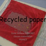 Recycled paper in Lyon